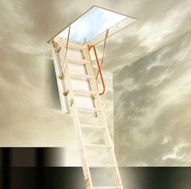 eco timer attic ladder & Attic stairs u0026 Ladders - AMboss ladders Vista Attic Ladders Signet ...